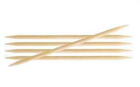 Bamboo Strumpfnadeln 15 cm