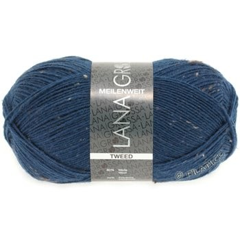 Meilenweit Tweed - Sockenwolle waschmaschinenfest, garantiert filzfrei, - LANA GROSSA