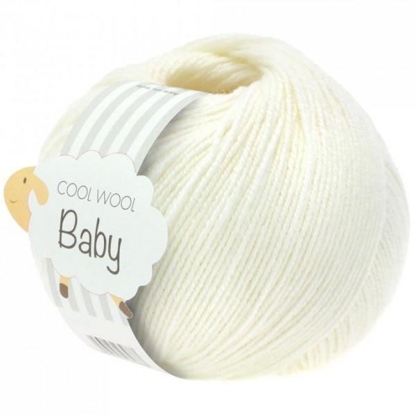 Cool Wool Baby - Wolle aus 100% Schurwolle (Merino) 25 g