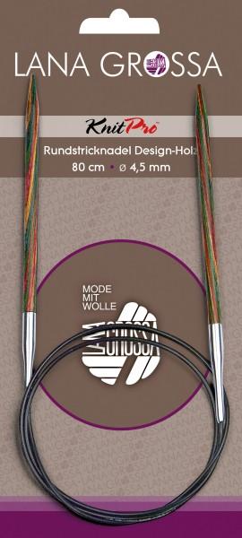 Rundstricknadel Design-Holz 80 cm