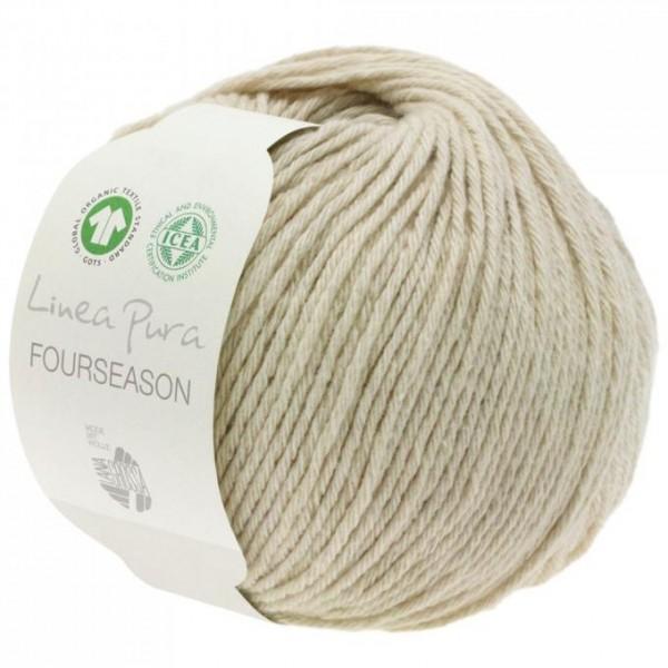 LANA GROSSA Fourseason- -Ganzjahresgarn aus Bio-Schurwolle, Bio-Baumwolle und Kaschmir