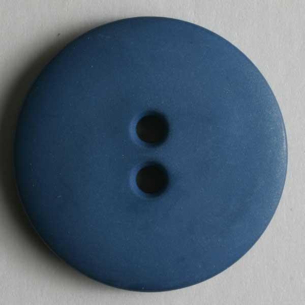 Modeknopf matt blau 18 mm