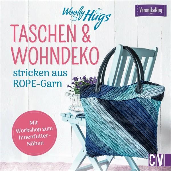 Taschen & Wohn-Deko stricken aus Rope-Garn - Woolly Hugs