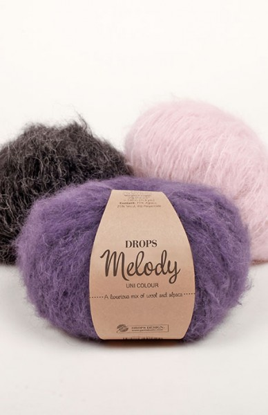 Melody - Edle Mischung aus Wolle und brushed Alpaca