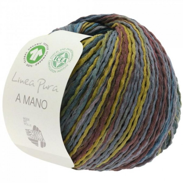 A Mano - Aufwendig bedrucktes Bio-Baumwollgarn