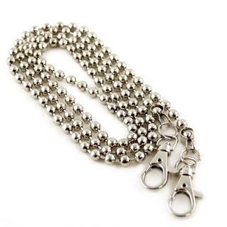 Clutch Taschenkette silver
