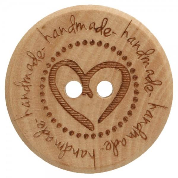 Holzknöpfe handmade