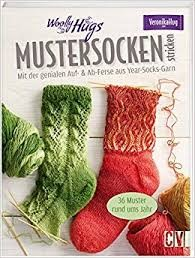 WOOLLY HUGS Mustersocken Year Socks - Anleitungsmagazine