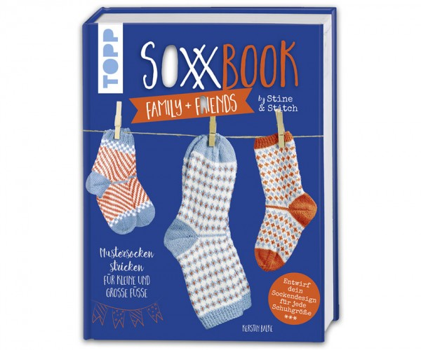 Soxx Book Family + Friends by Stine & Stitch