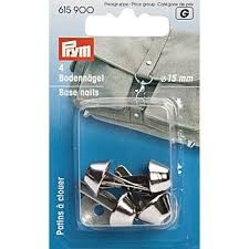PRYM Bodennägel für Taschen 15 mm