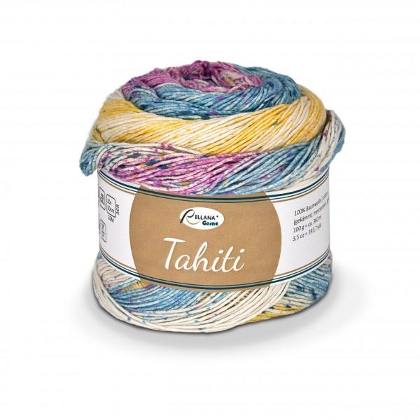 Tahiti - Baumwollgarn mit Verlauf