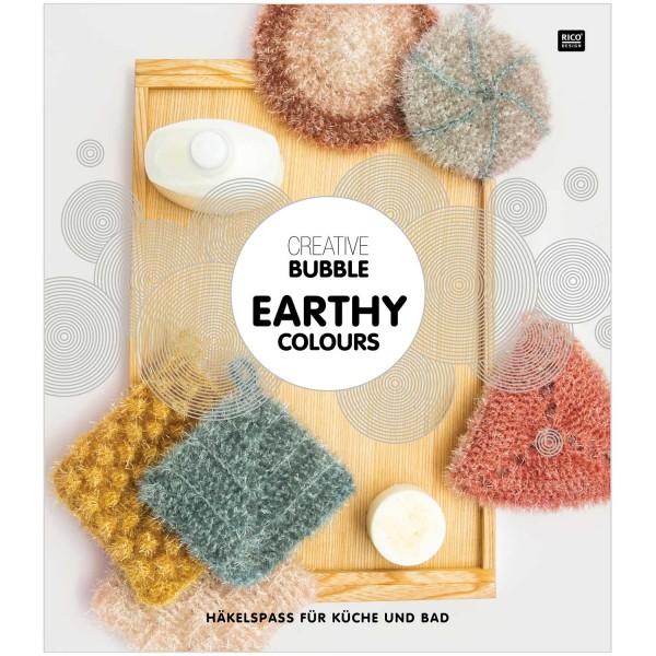 Creative Bubble EARTHY Colours - Häkelspass für Küche und Bad - Anleitungsbroschüre