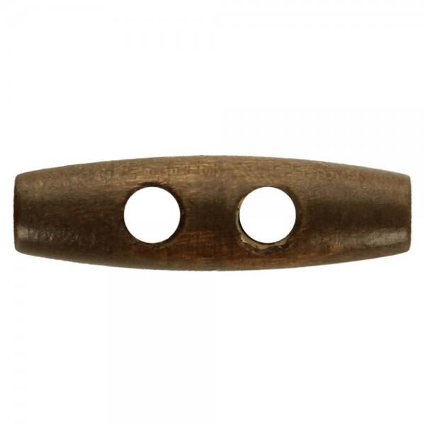 Knebelknopf Holz 30mm braun
