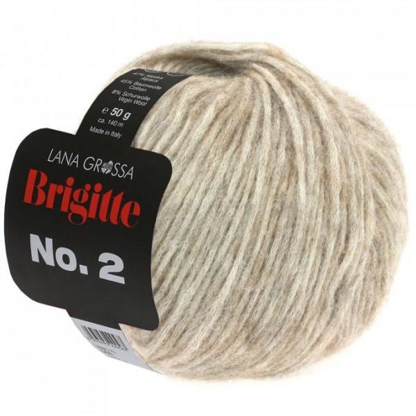 Brigitte No. 2 - Hochwertige Mischung aus Alpaca, Baumwolle u. Schurwolle