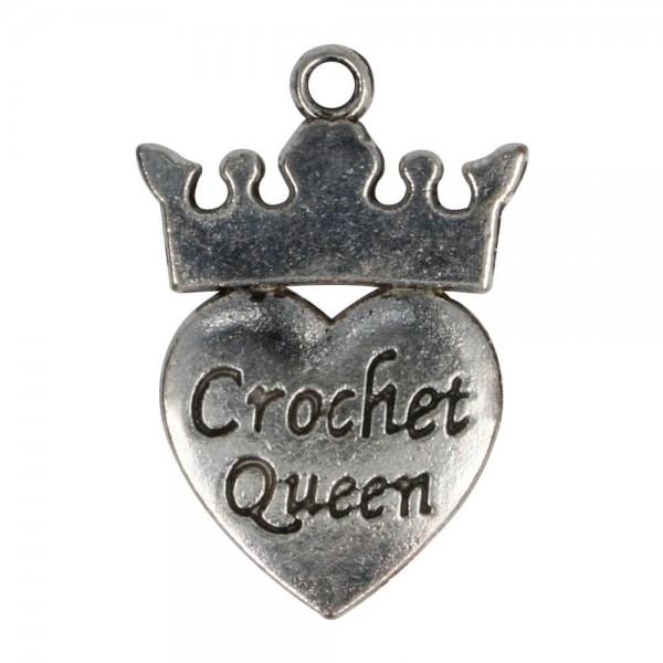 Anhänger Crocket Queen