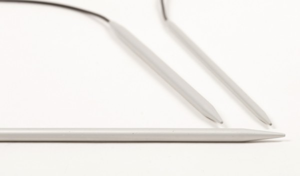 Basic Rundnadeln - Aluminium 40cm