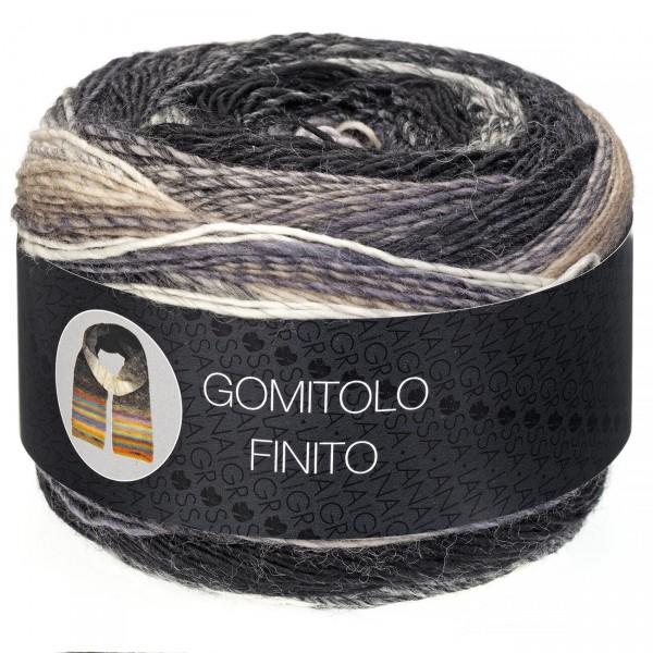 Gomitolo Finito - Verlaufsgarn aus 100% Schurwolle(Merino)