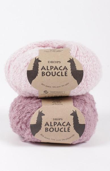 Alpaca Boucle - Effektgarn aus Alpacamischung