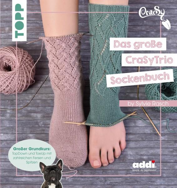 TOPP Das große CraSy Trio Sockenbuch by Sylvie Rasch
