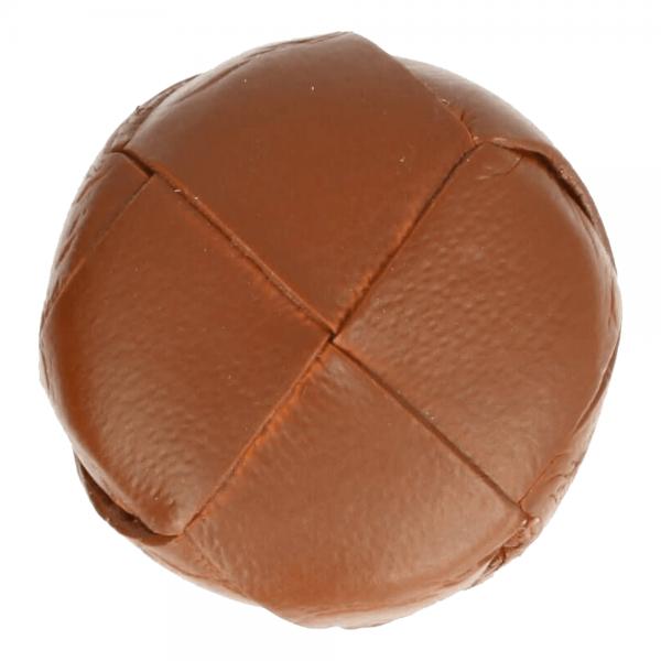 Knopf Fußball handgefertigt 24mm