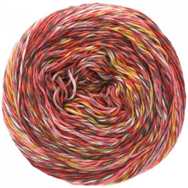 LANA GROSSA Pappagallo - Sommergarn in auffällig bunten Farben