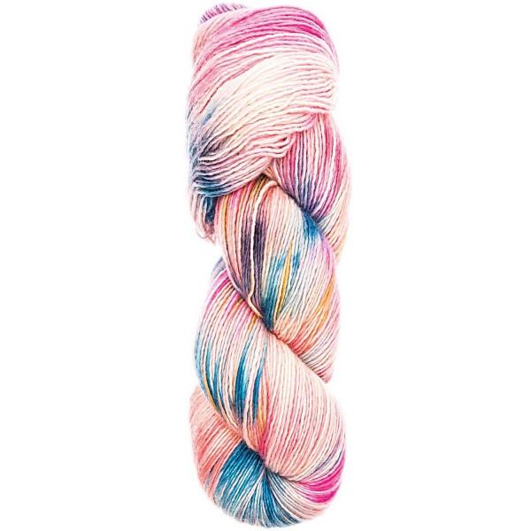 RICO DESIGN Luxury Hand-Dyed Happiness - 100% Schurwolle (Merino Extrafine)