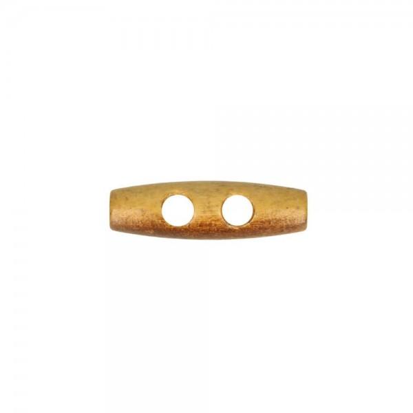Knebelknopf Holz 30mm geflammt