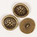 Metal Buttons mit Öse (Inka) 20mm