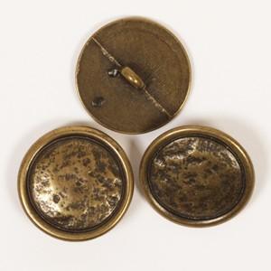 Metallknopf mit Öse (messing) 20mm