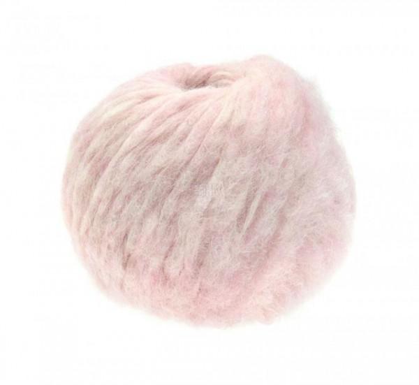 LANA GROSSA lala BERLIN Furry - kuschelige Flauschgarn aus Alpaka sieht verstrickt aus wie ein Pelz