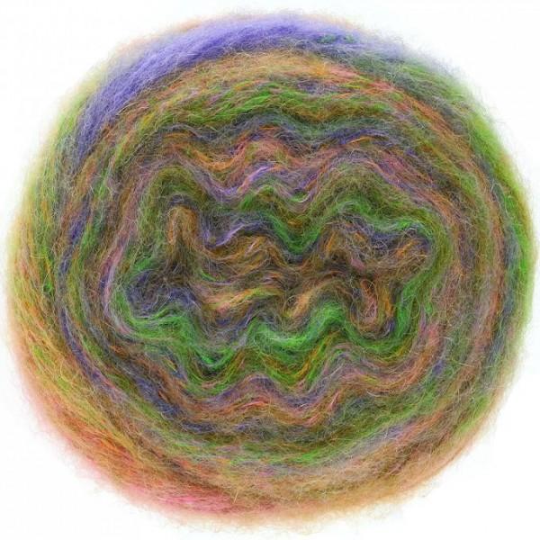 Tutti - Wolle aus Mischung Mohair, Alpaca und Merino mit tollen Farbeffekten