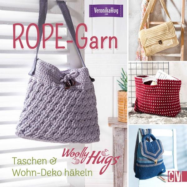Taschen & Wohn-Deko häkeln - Buch von der Autorin Veronika Hugs