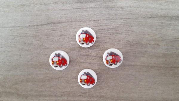 Kinderknöpfe Feuerwehr