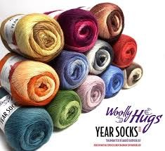 Year Socks Color 100 g