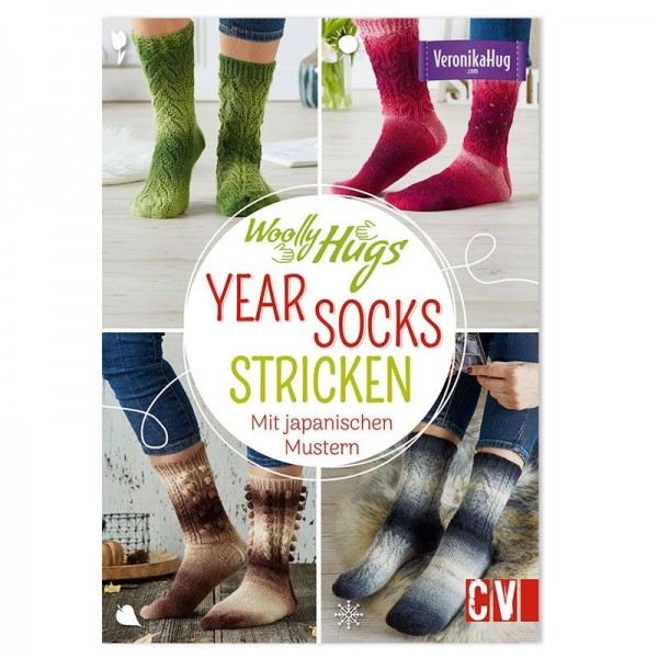 WOOLLY HUGS Year Socks Stricken - Anleitungsmagazine