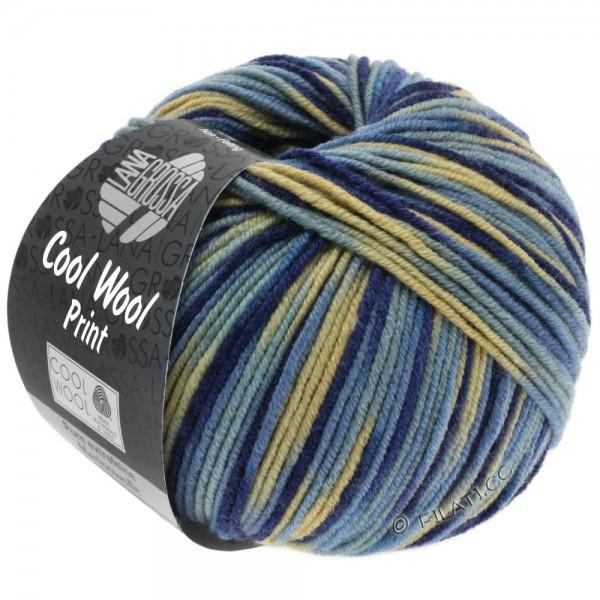 LANA GROSSA Cool Wool print - 100 % Schurwolle Merino