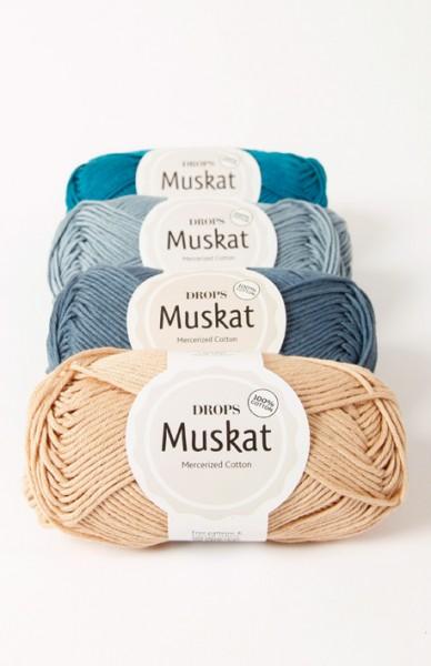 Muskat - 100% Baumwolle