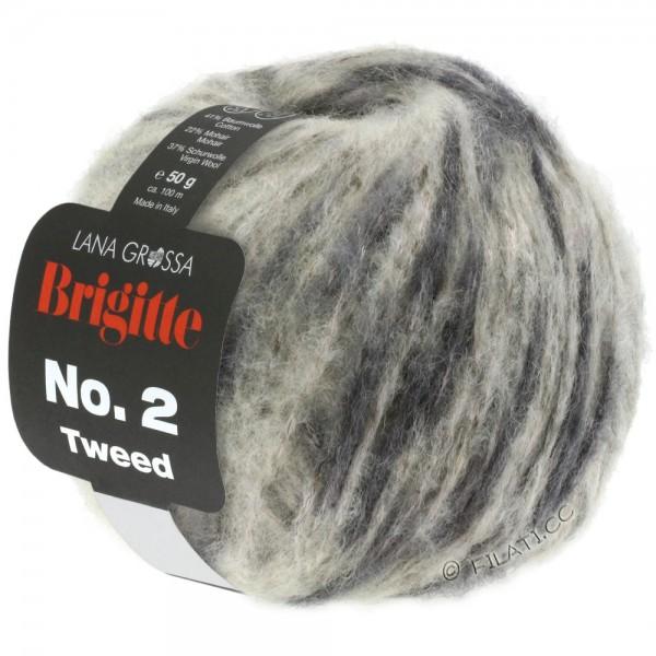 Brigitte No 2 Tweed - Hochwertige Mischung aus Baumwolle, Schurwolle u. Mohair von LANA GROSSA