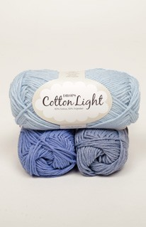 Cotton Light - Mischgarn aus Baumwolle u. Polyamid