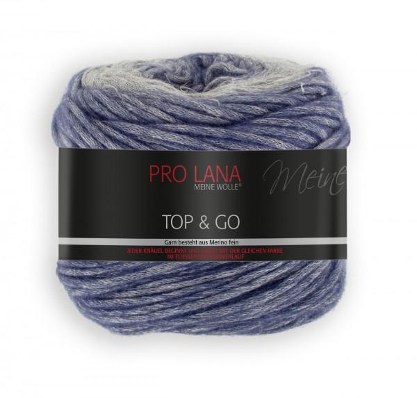 PRO LANA Top & Go - Wolle aus Viskose und Schurwolle (Merino)