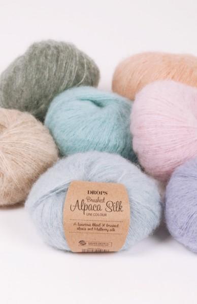 Brushed Alpaca Silk - Garn aus Alpaca und Seide